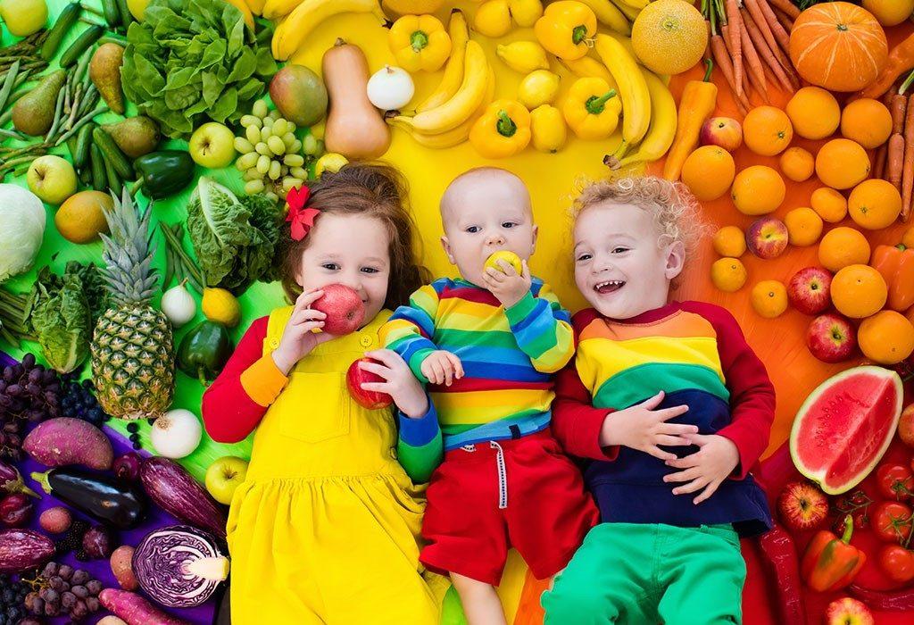 tăng sức đề kháng cho trẻ bằng trái cây