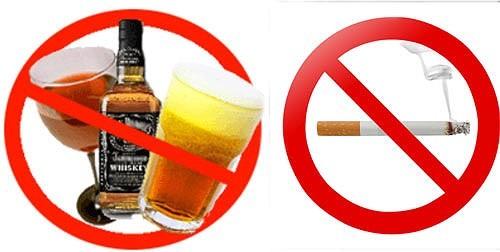 Rượu bia khói thuốc không nên sử dụng khi bị viêm họng