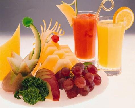 hoa quả, đồ uống cho trẻ bị viêm amidan