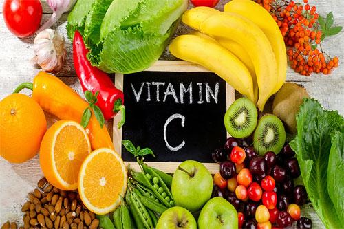 bổ xung vitamin c