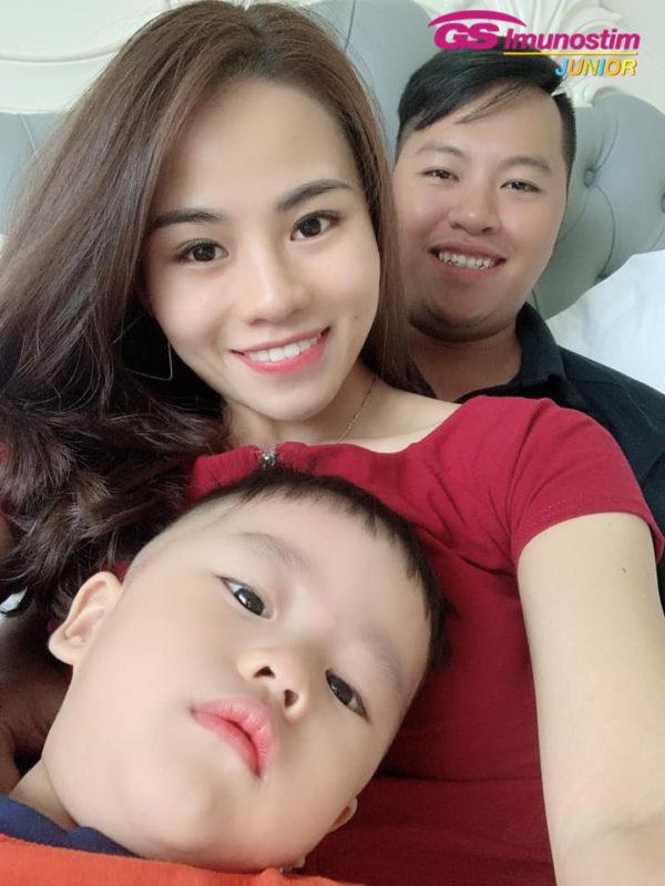 Gia đình chị Hằng trong chuyến đi du lịch Phú Quốc